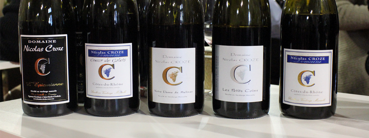 Domaine nicolas croze - Salon des vignerons independants rennes ...