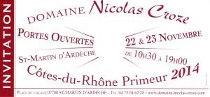 Côtes du Rhône Primeur 2014 en fête!!