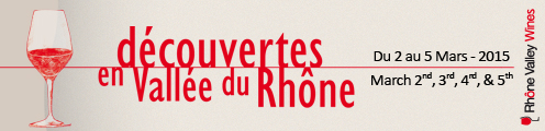 DECOUVERTE EN VALLEE DU RHONE 2015 A AVIGNON