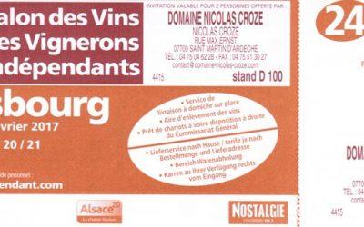 Domaine nicolas croze for Salon mer et vigne strasbourg 2017